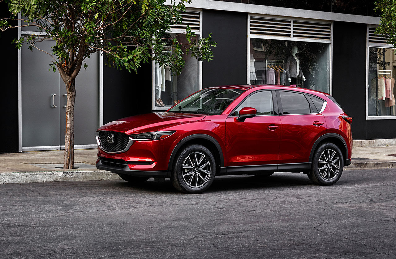 Mazda presenterar nya CX-5