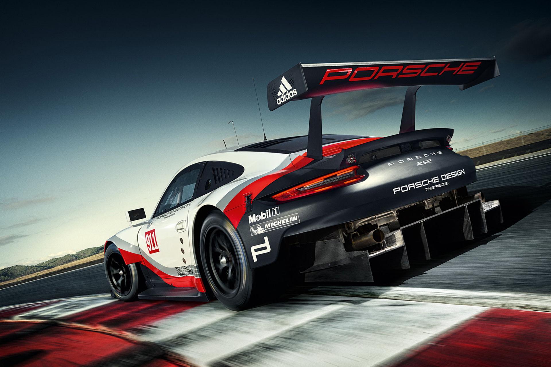 Porsche presenterar 911 med mittmotor