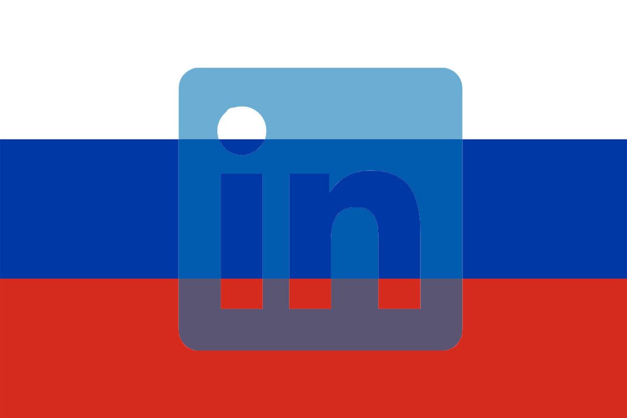 LinkedIn blockeras i Ryssland