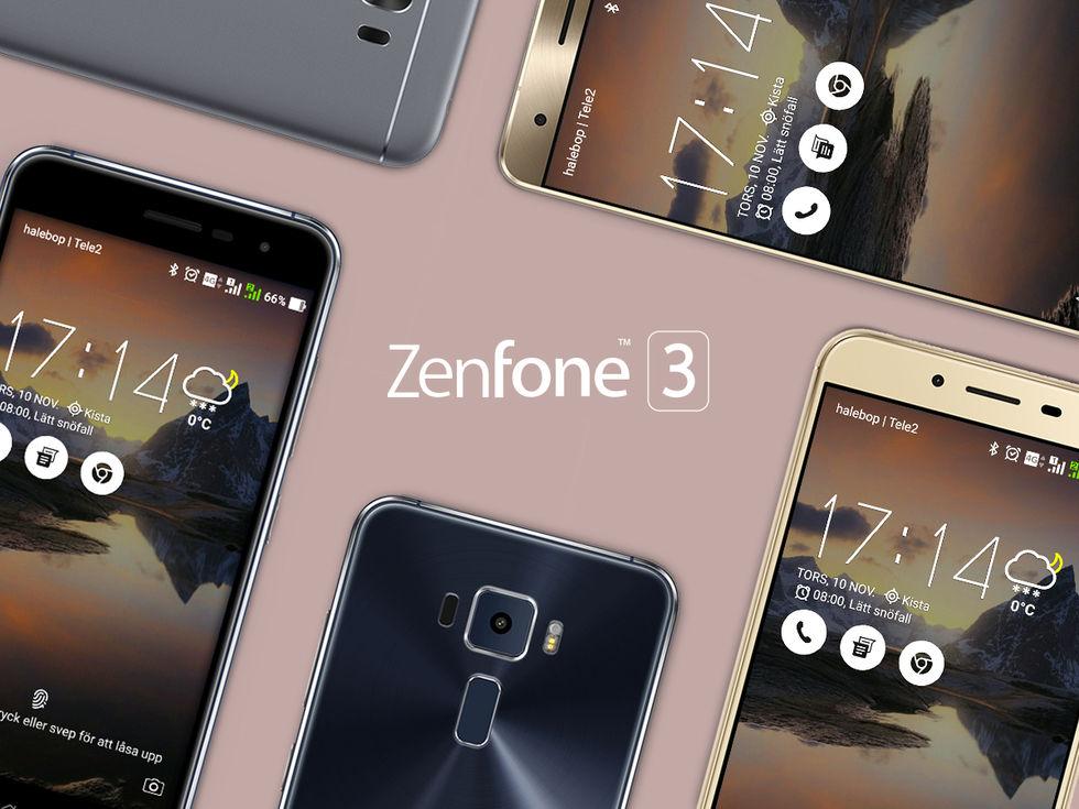 Nu kan du köpa Asus Zenfone 3 i Sverige