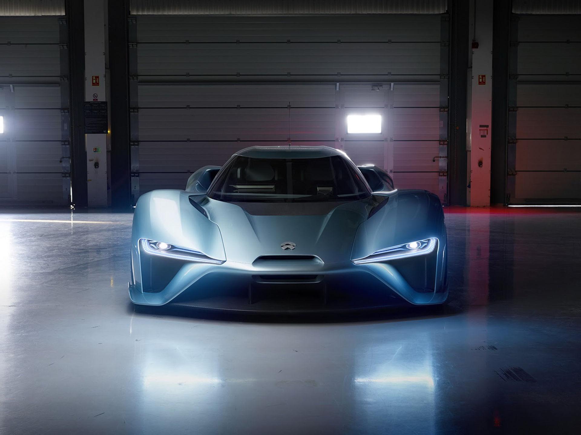 NextEV presenterar den eldrivna superbilen NIO EP9