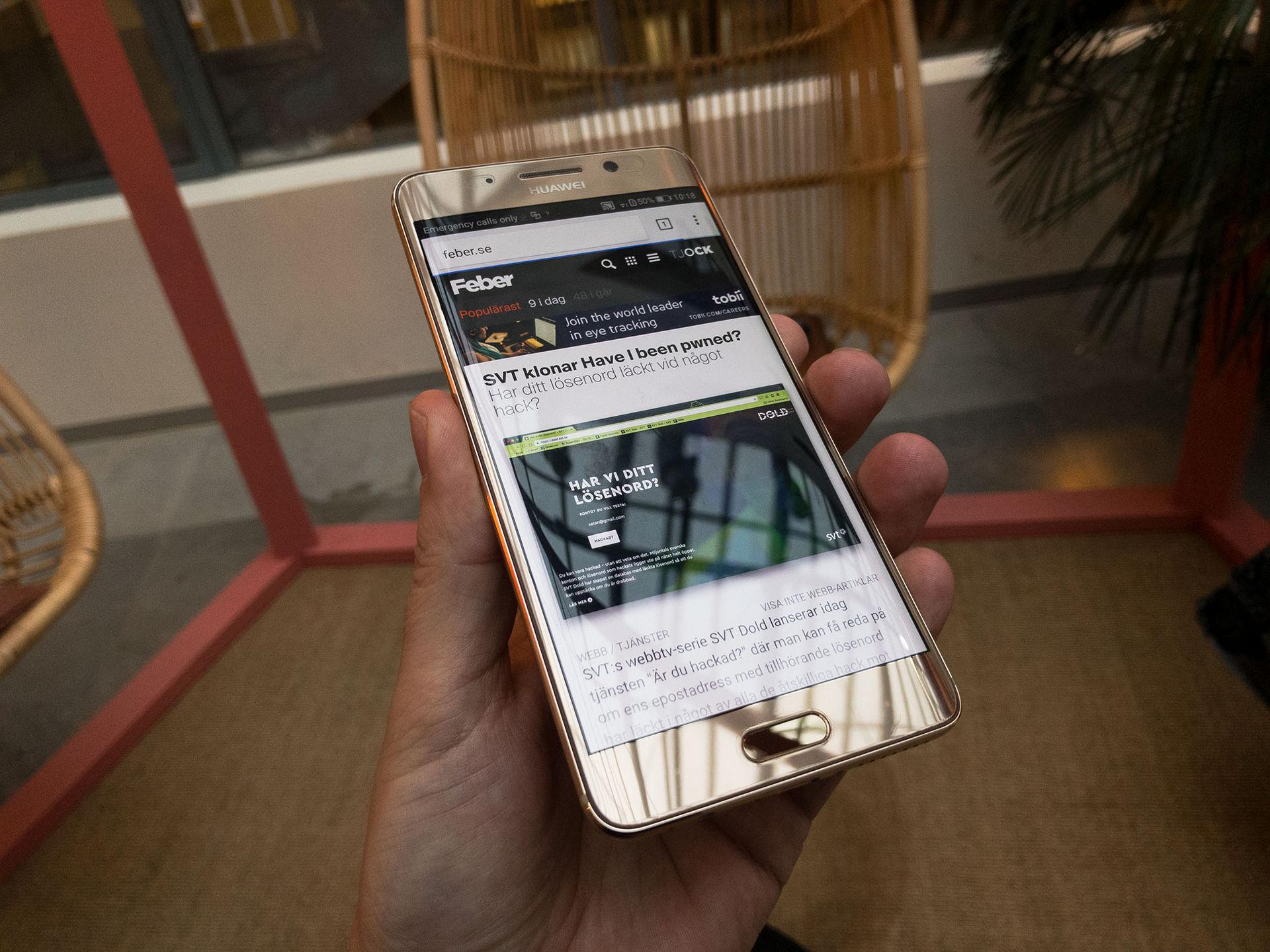 Huawei lanserar Mate 9 Pro i Sverige