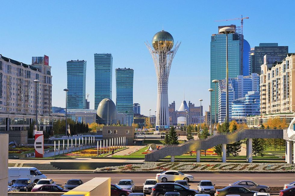 Kazakstan vill döpa om huvudstaden efter presidenten