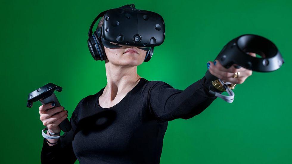 HTC Vive är prissänkt under Black Friday. Kostar nu under 8000 kronor