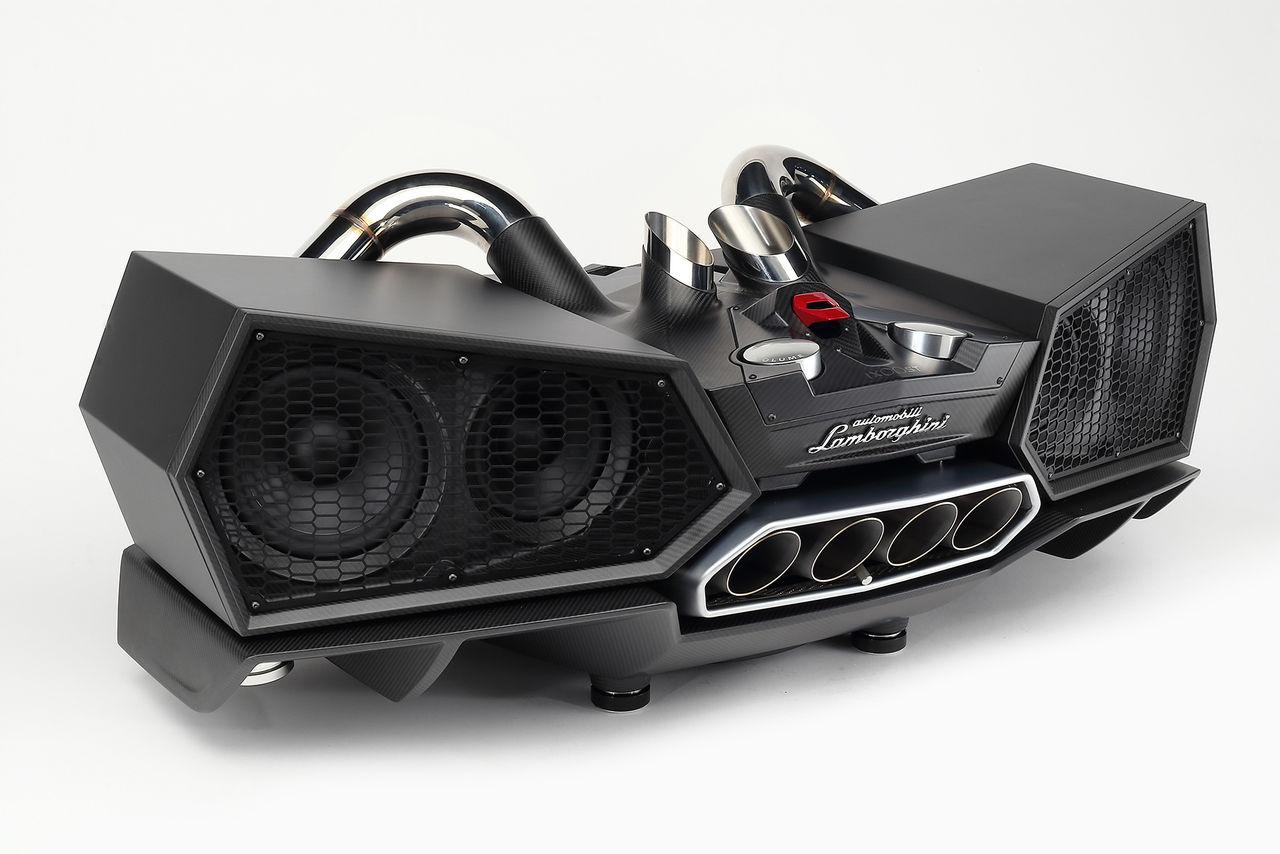 Stereoanläggning från Lamborghini och iXoost