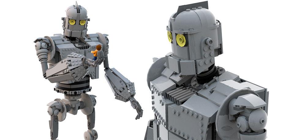 The Iron Giant i LEGO