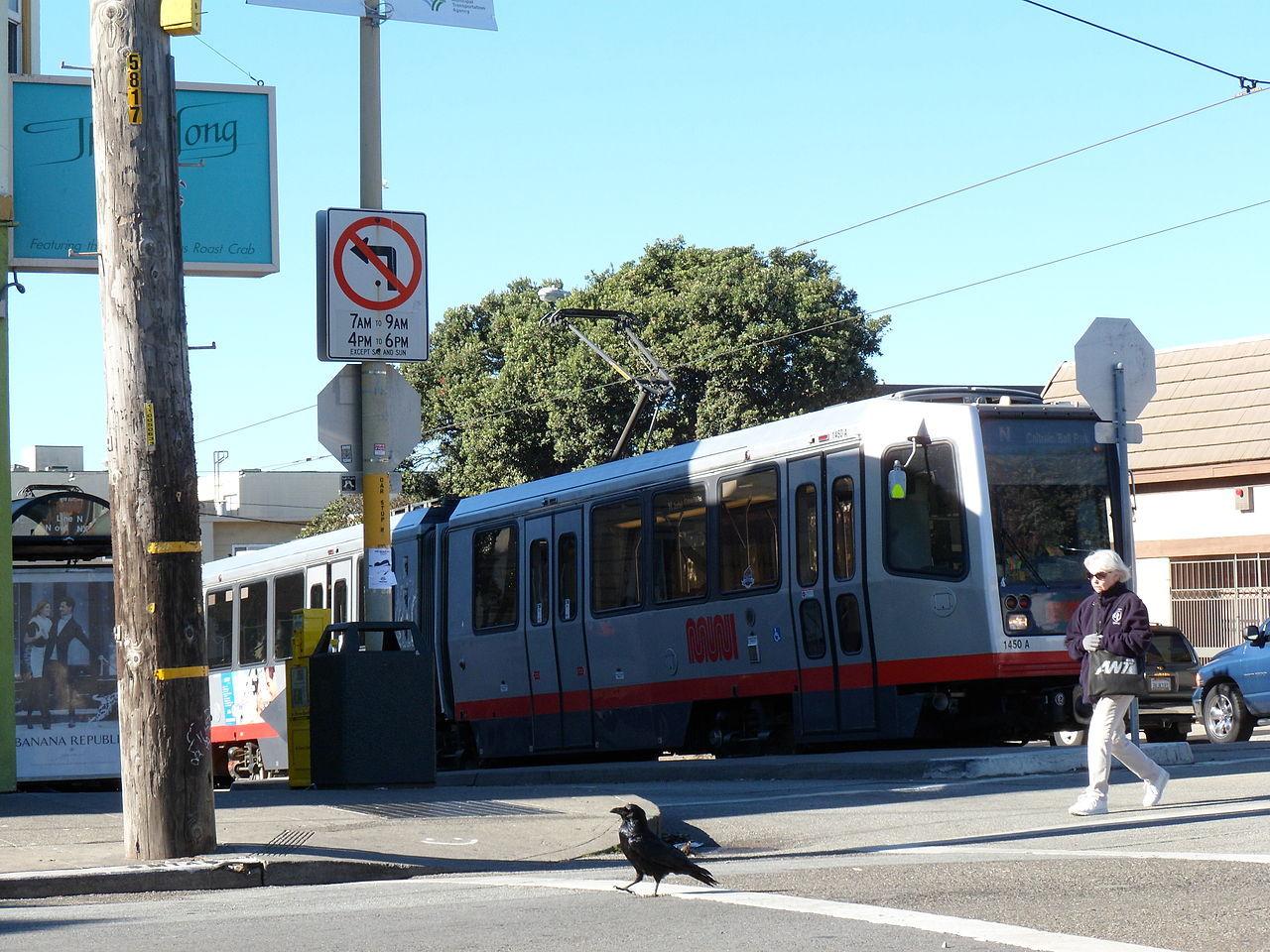 Lokaltrafiken i San Francisco hackad