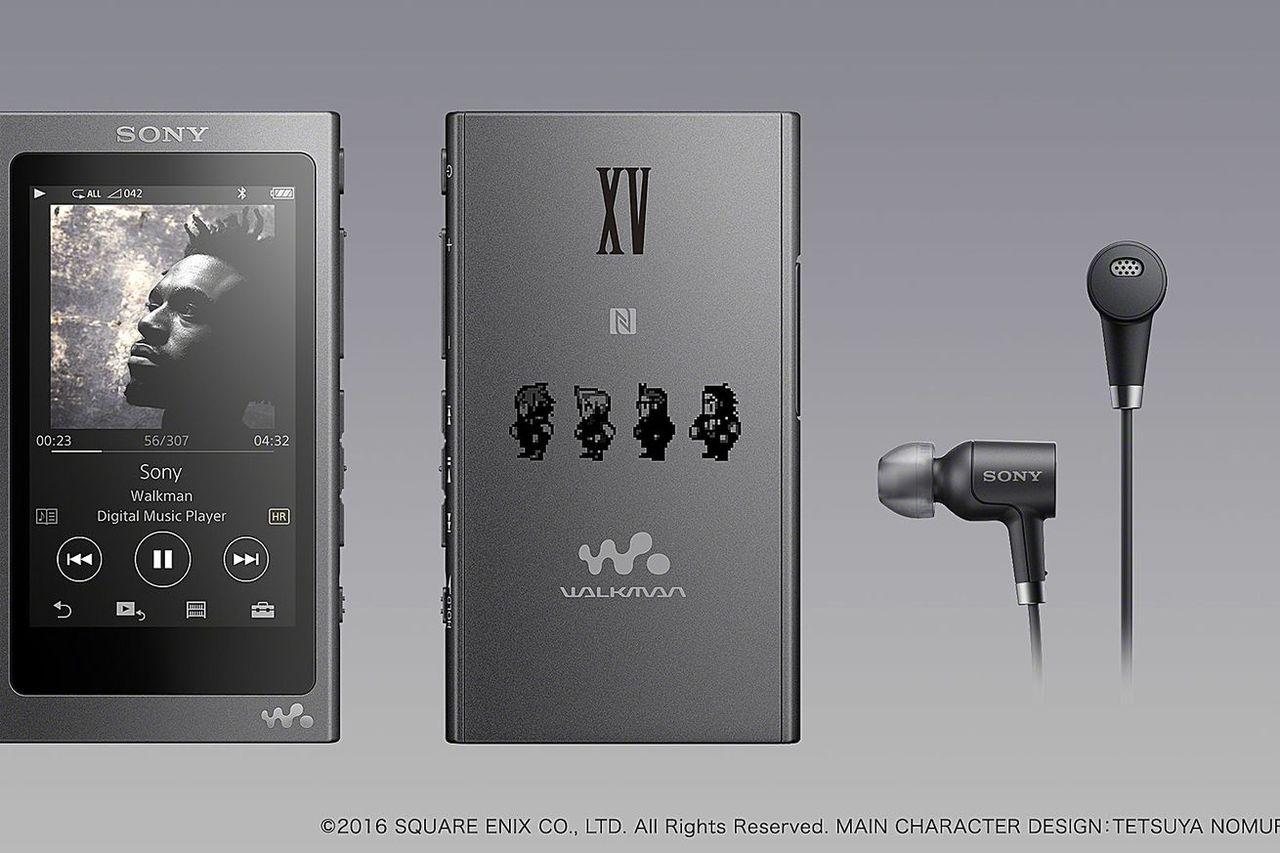 Sony presenterar ljudprodukter med Final Fantasy XV-tema