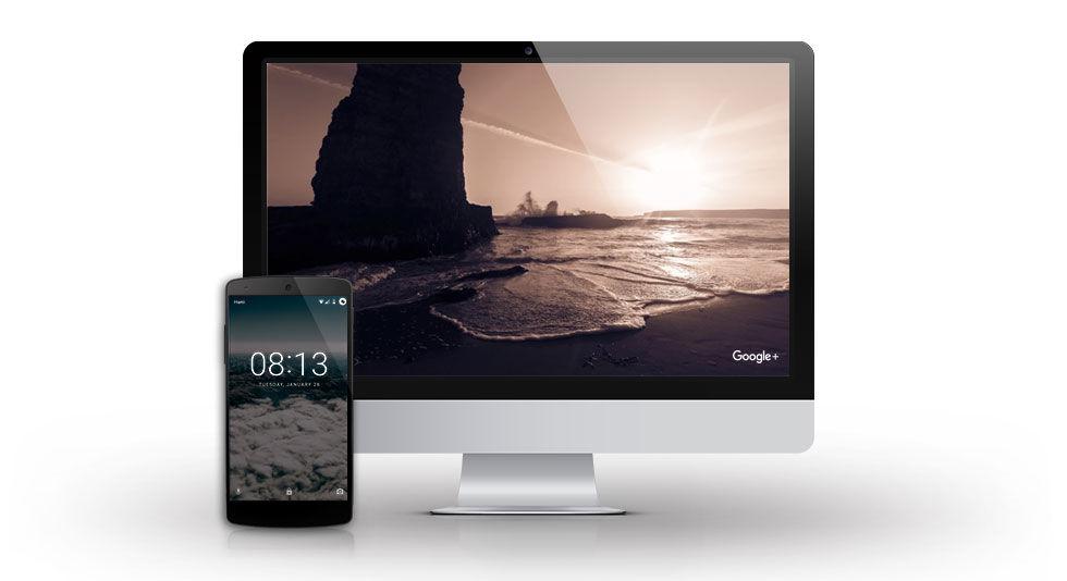 Google släpper skärmsläckare till macOS