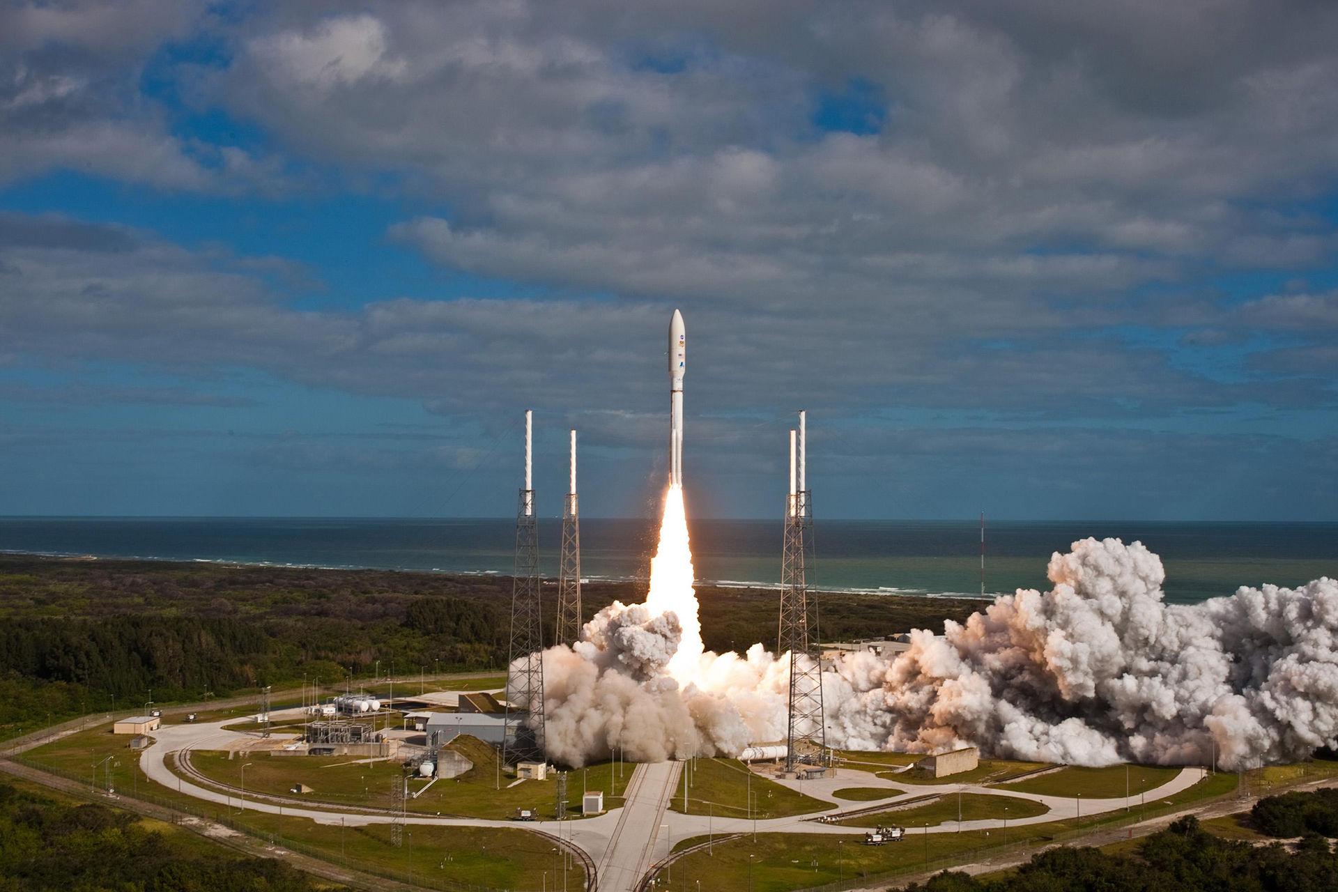 USA skjuter upp fler raketer till rymden än Ryssland i år