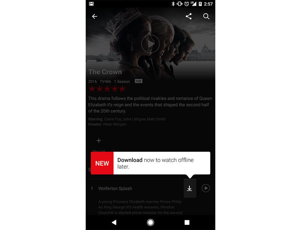 Nu ska det gå att kolla på Netflix offline