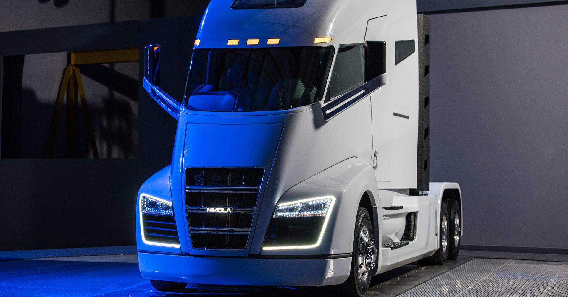Nikola Motors vätgasdrivna lastbil är presenterad