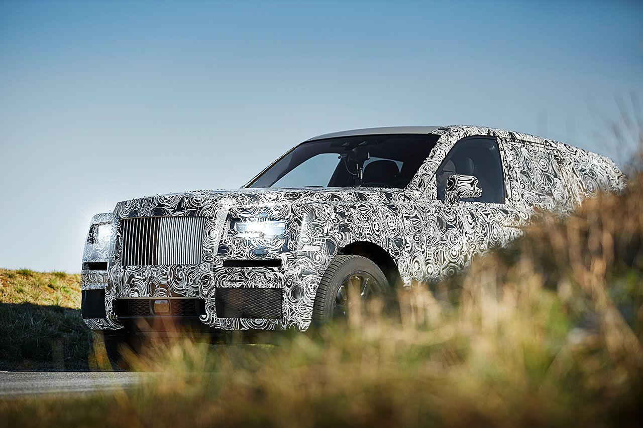 Rolls-Royce tar nästa steg med sitt SUV-projekt