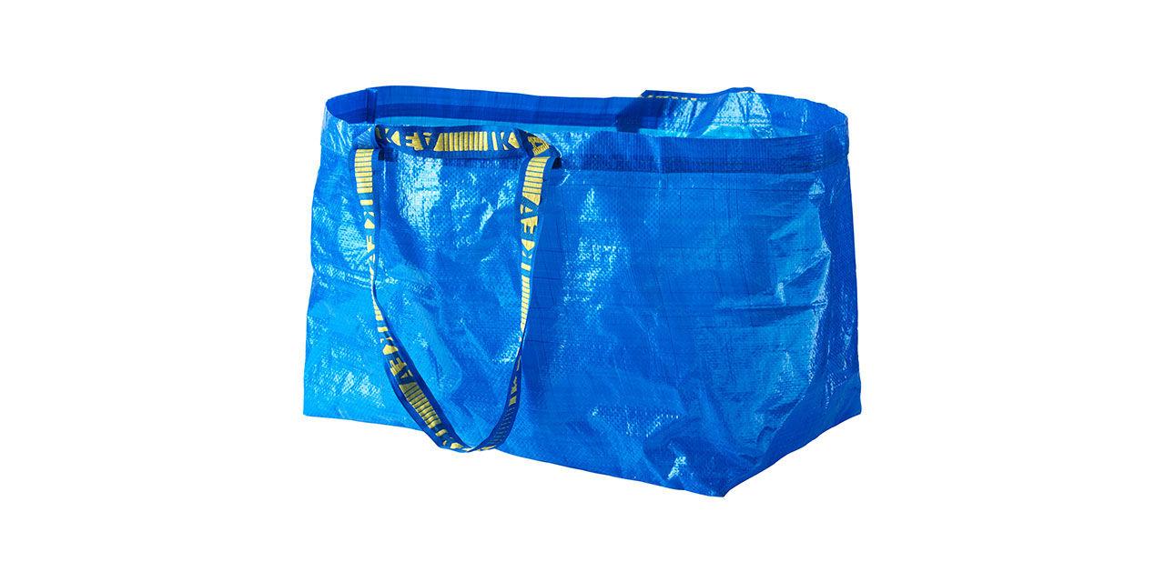 Så gör du en ryggsäck av en Ikea-påse