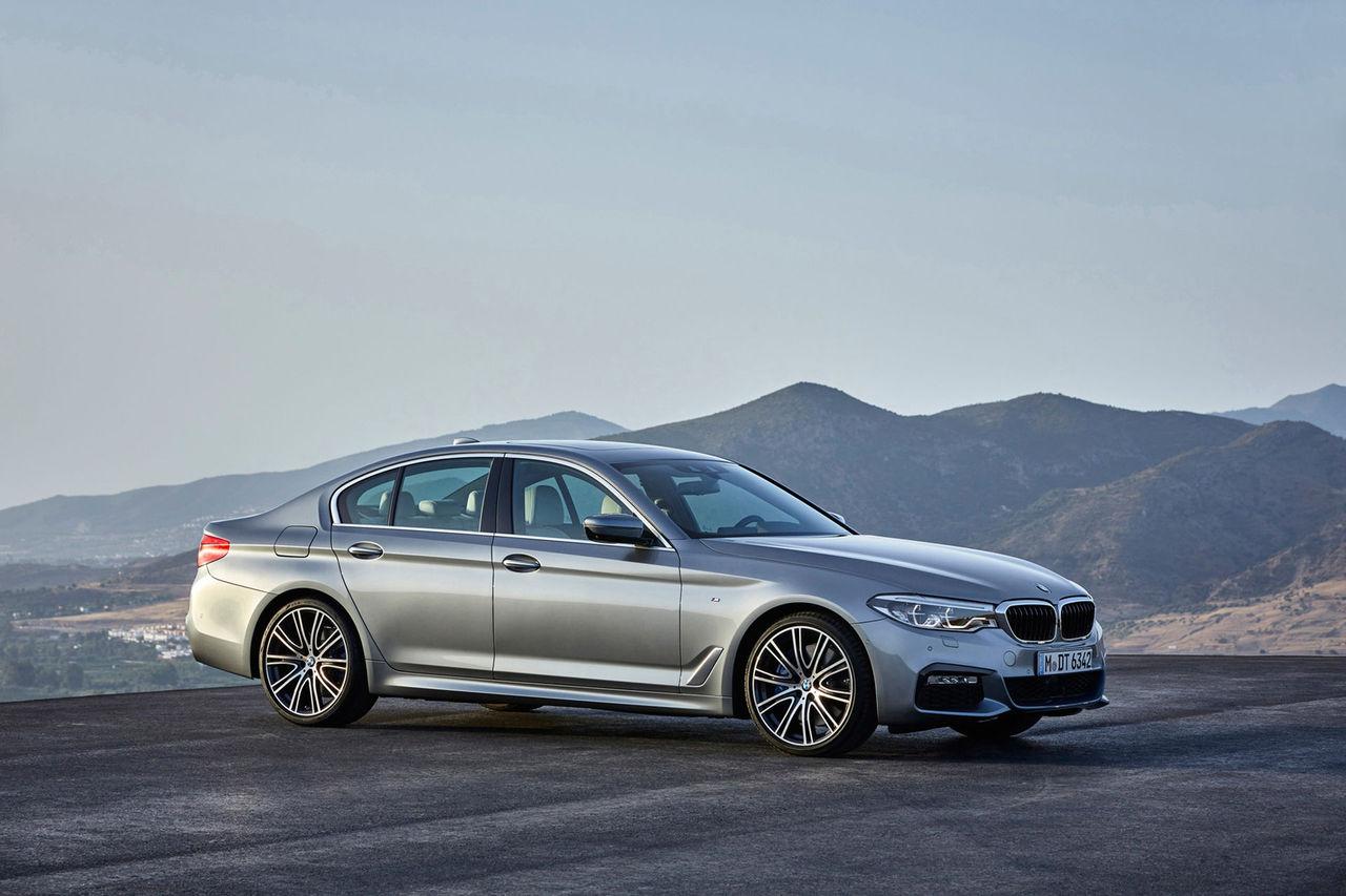 BMW låste in en biltjuv i en av sina bilar