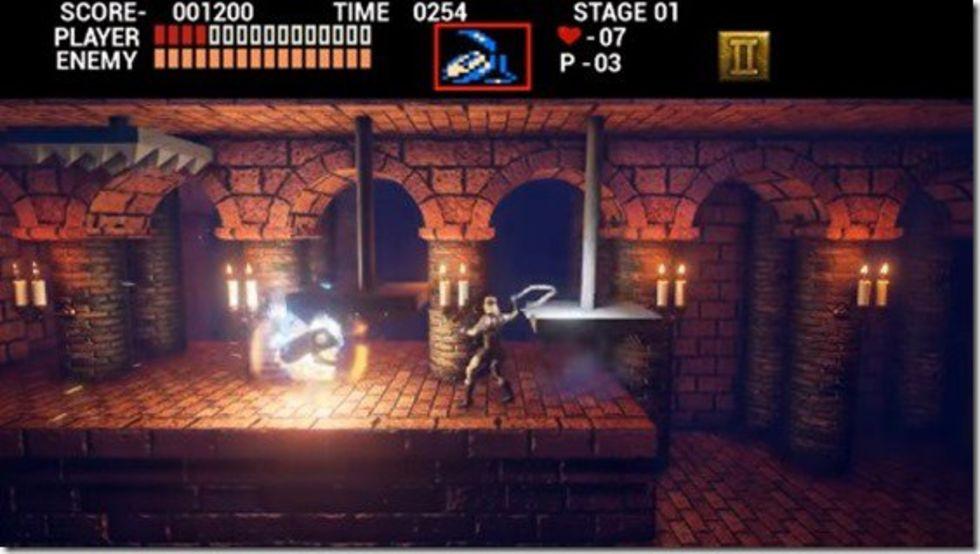 Konami stänger ner den hemmagjorda Castlevania-remaken