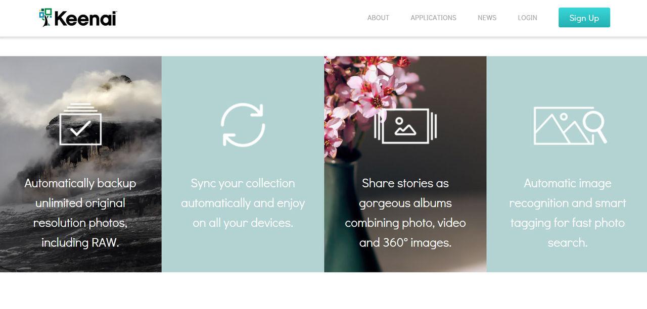 Ricoh lanserar onlinelagringen Keenai