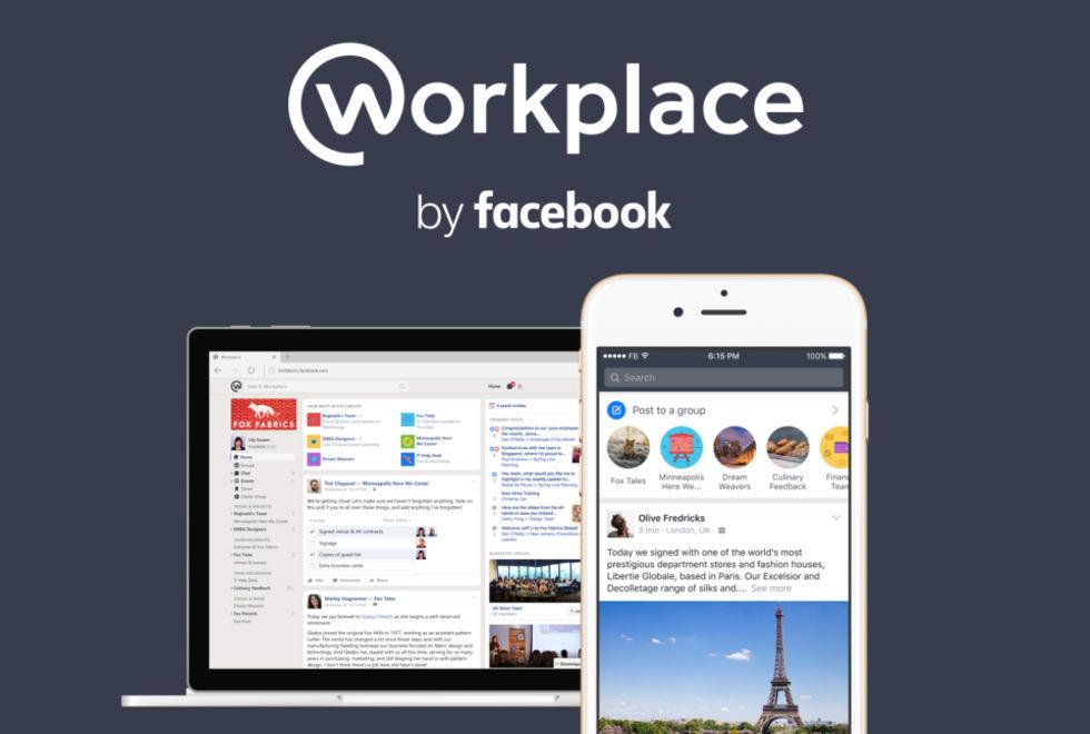 Facebook Workplace får stöd för tredjepartsappar