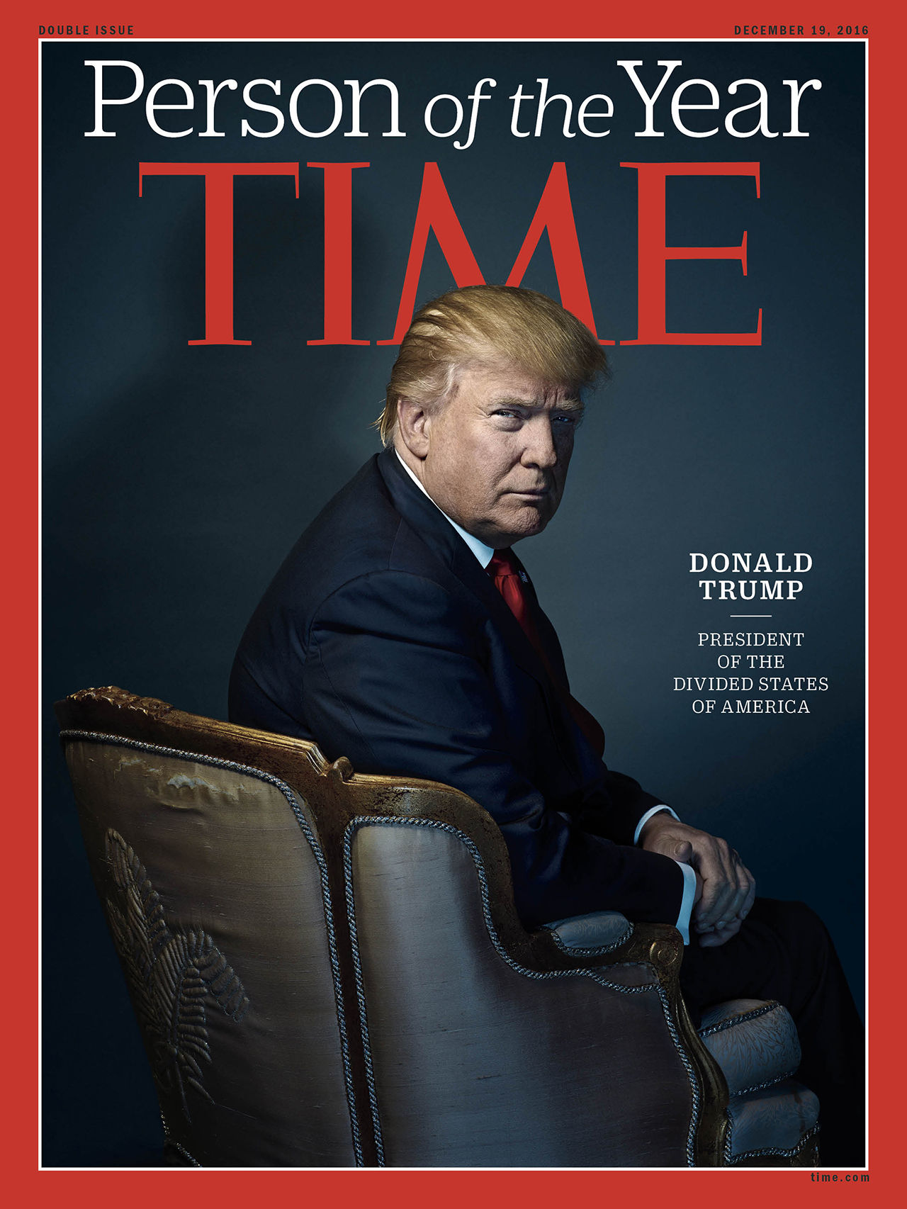 Donald Trump utsedd till TIME:s Person of the Year