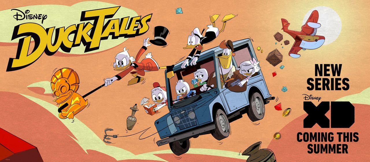 Nya DuckTales släpps i sommar