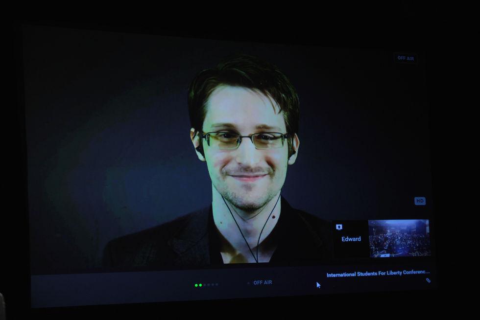 Edward Snowden kommer till Guldnyckeln nästa år