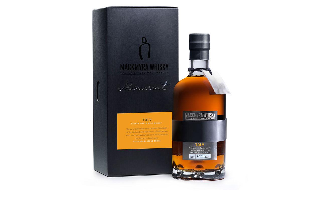 Sveriges första 12-åriga whisky