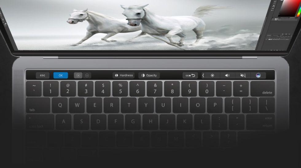 Nu har Photoshop fått stöd för Touch Bar