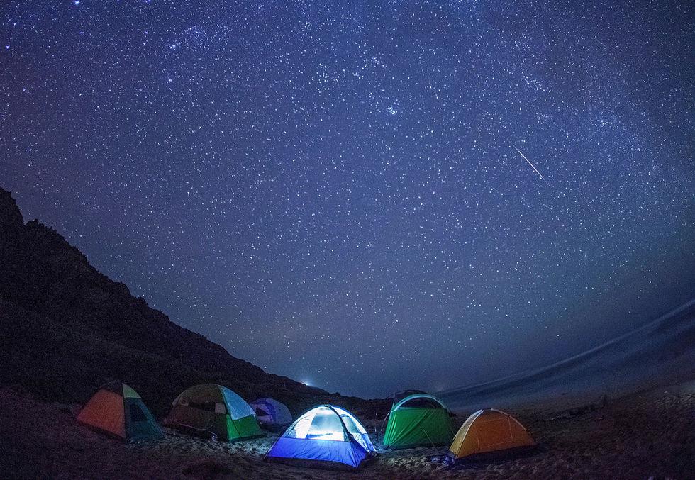 I natt kan du kanske se hundratals stjärnfall