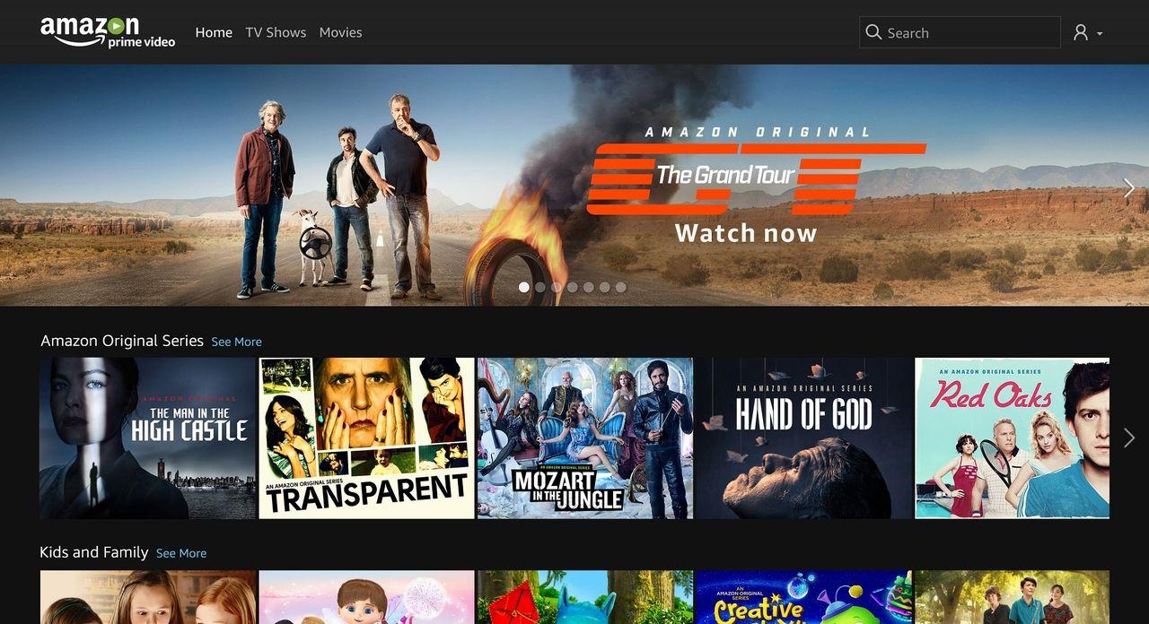 Amazon Prime Video nu tillgängligt i Sverige