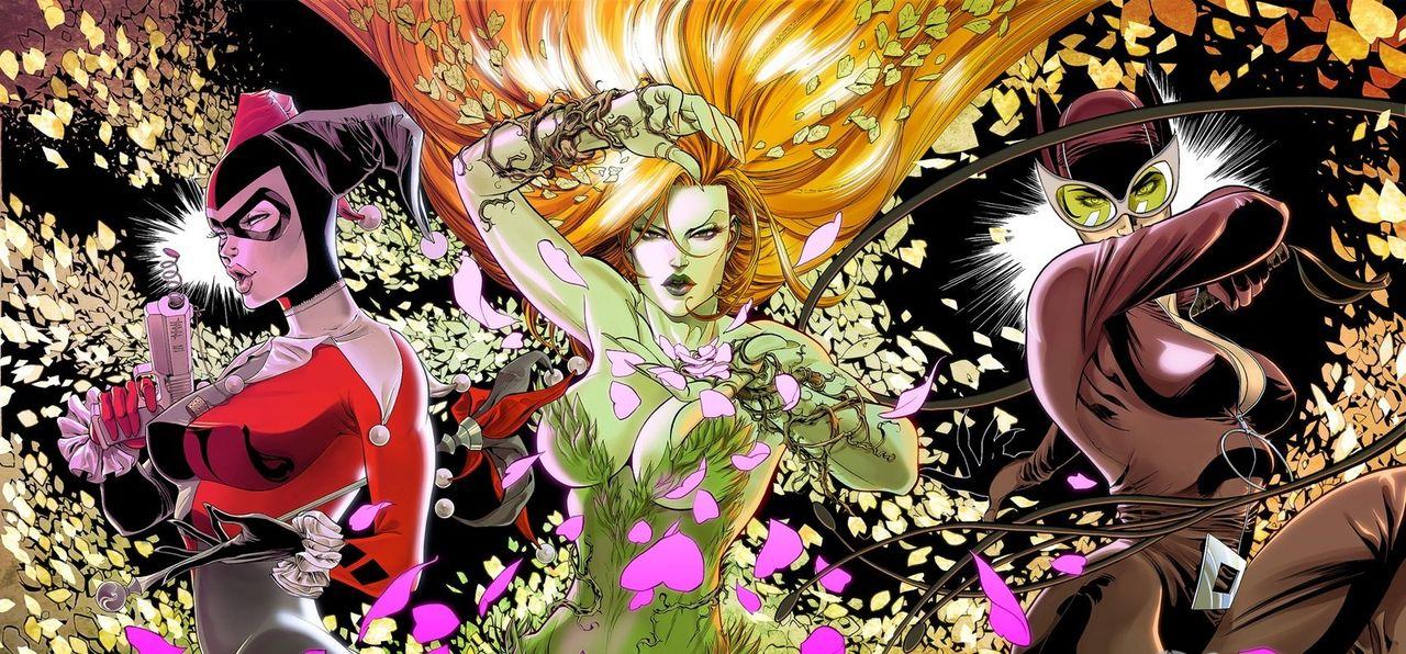 Harley Quinn återvänder i Gotham City Sirens