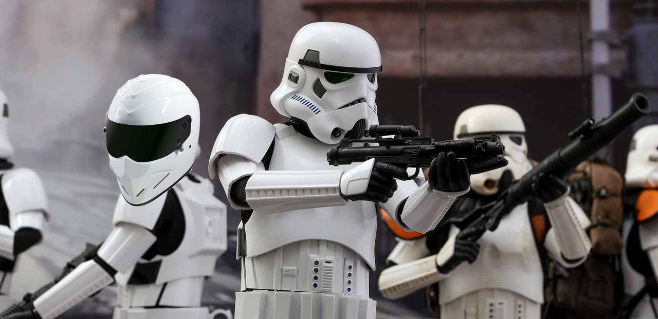 Ben Collins spelade en Stormtrooper