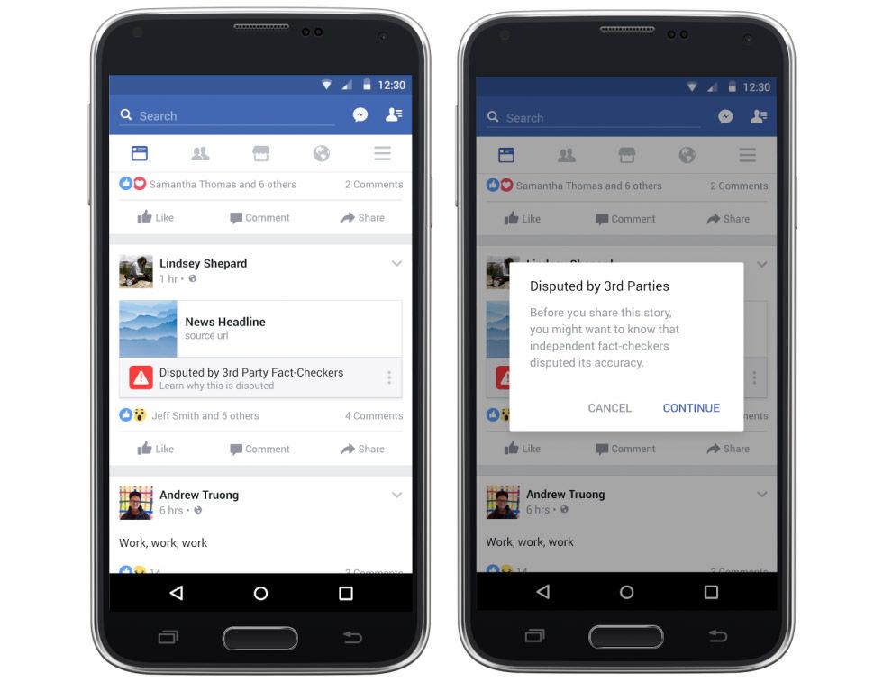Nu börjar Facebooks verktyg för att få bort fejk-nyheter rulla ut