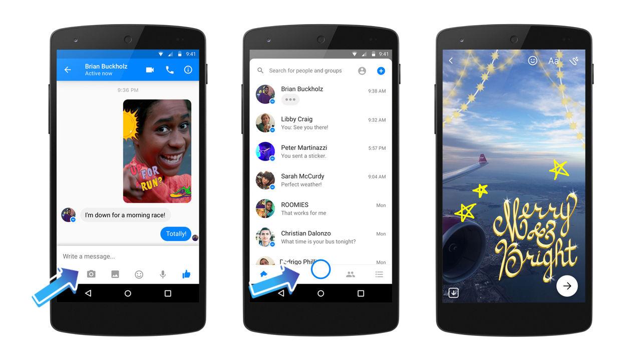 Facebook Messenger får ny kamerafunktion