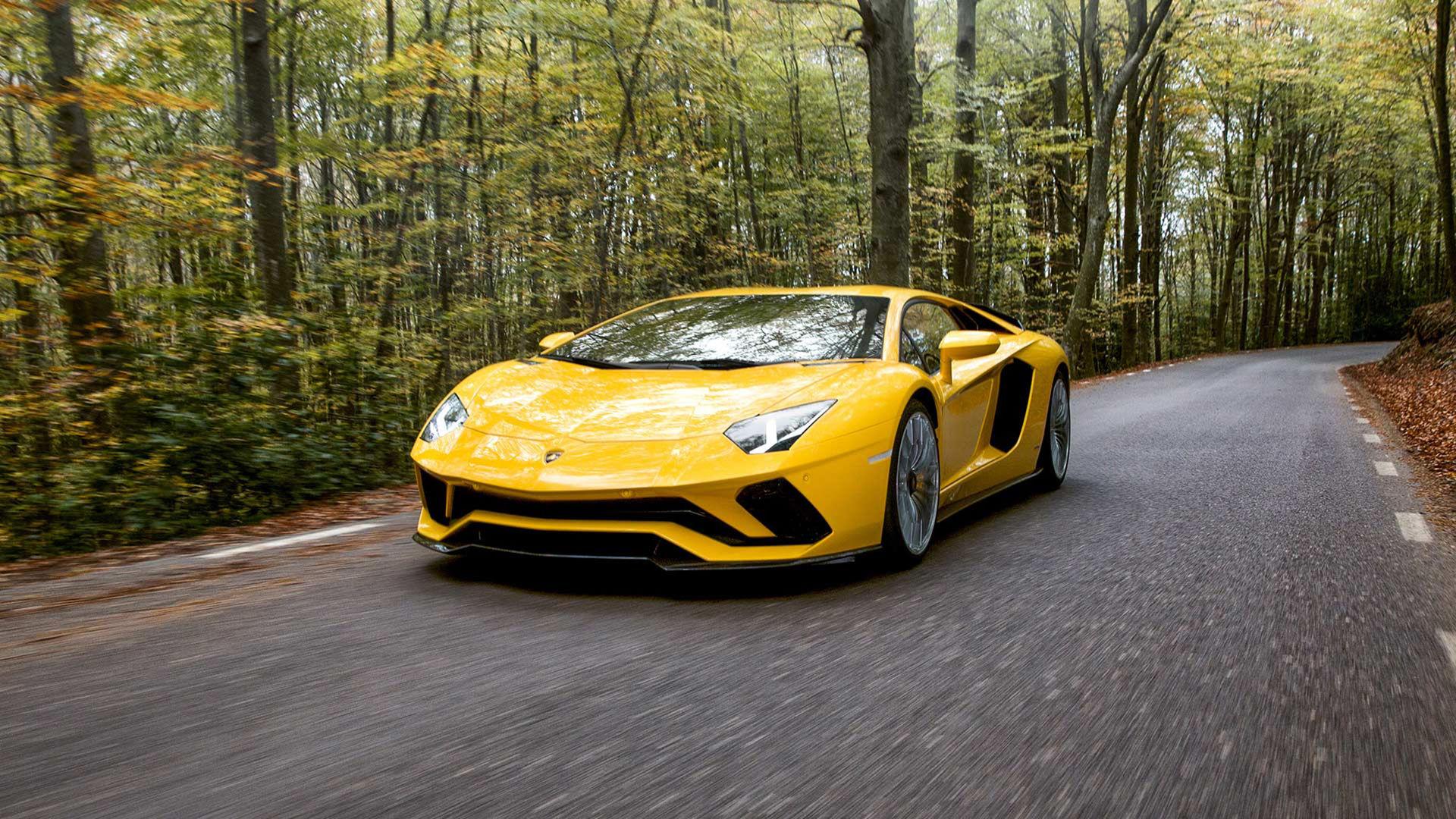 Lamborghini uppdaterar Aventador