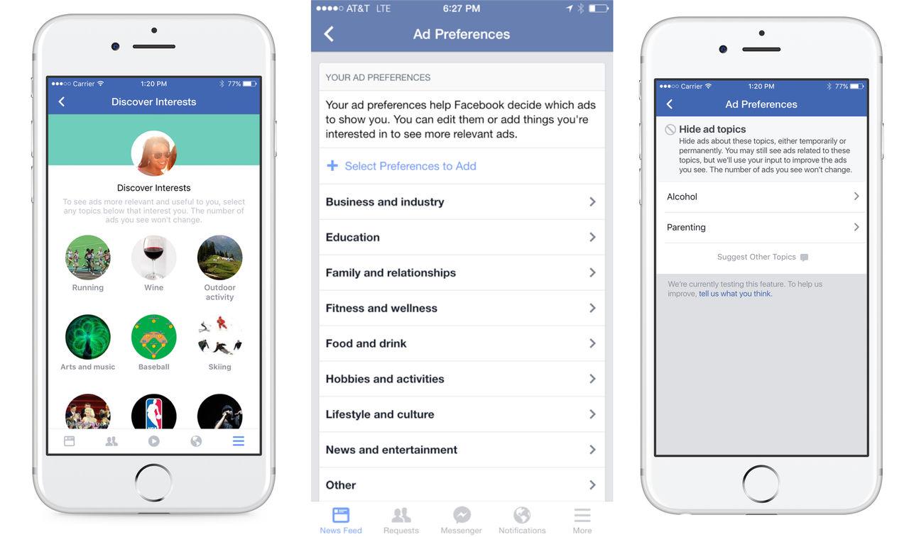 Facebook ger användare möjlighet att blockera reklam