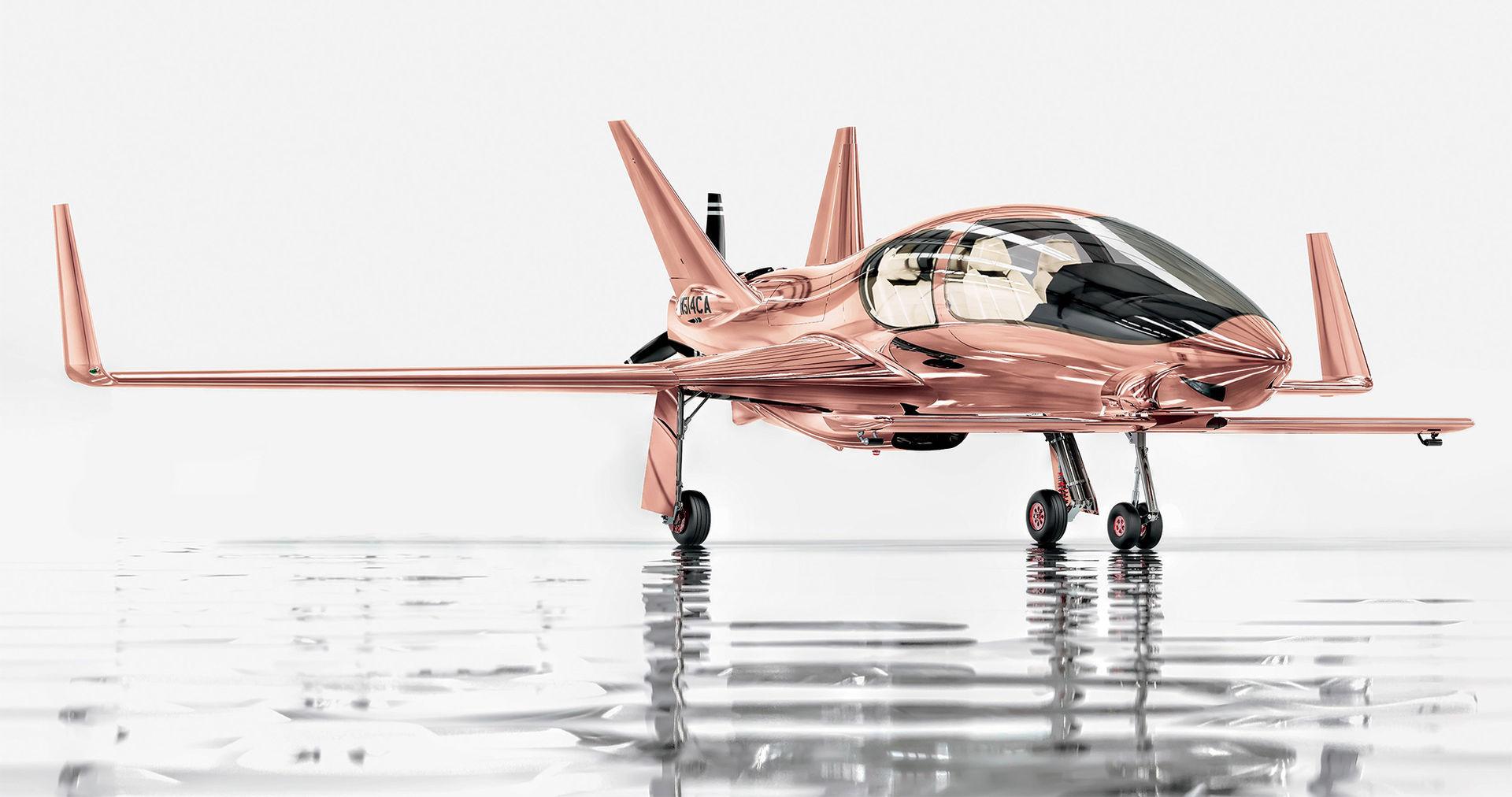 Köp ett privatplan i roséguld i julklapp