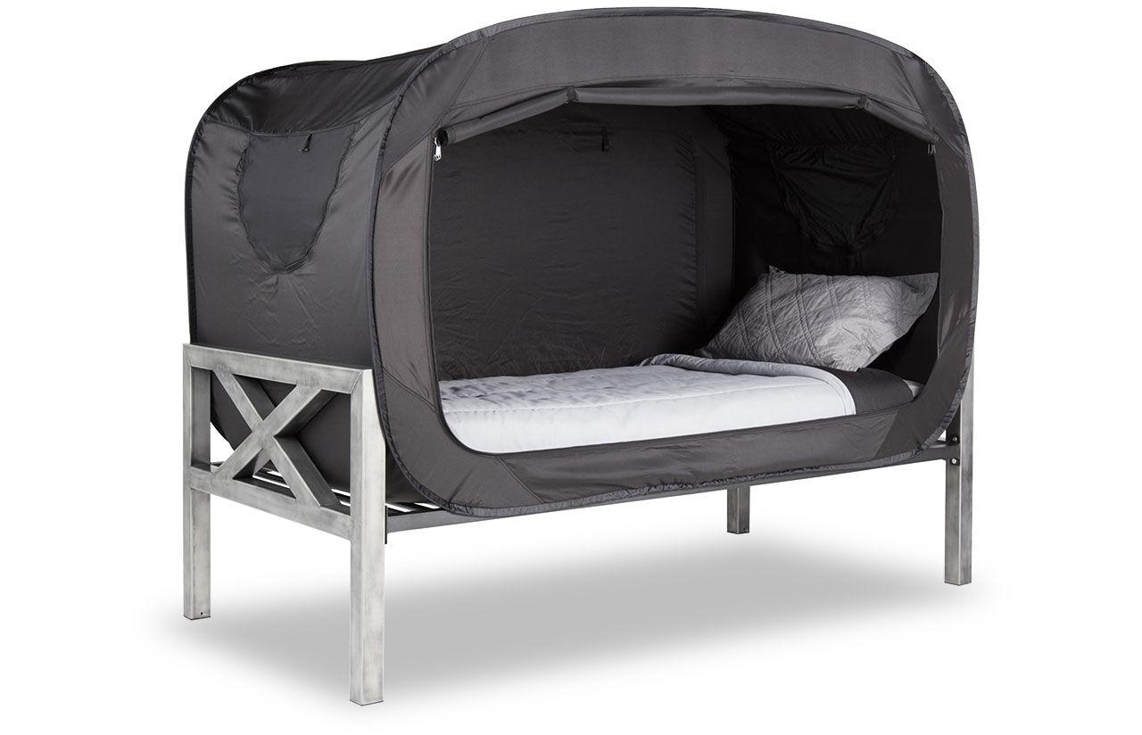 Tälta hemma i din egen säng