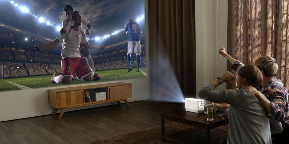 LG visar upp projektorn ProBeam