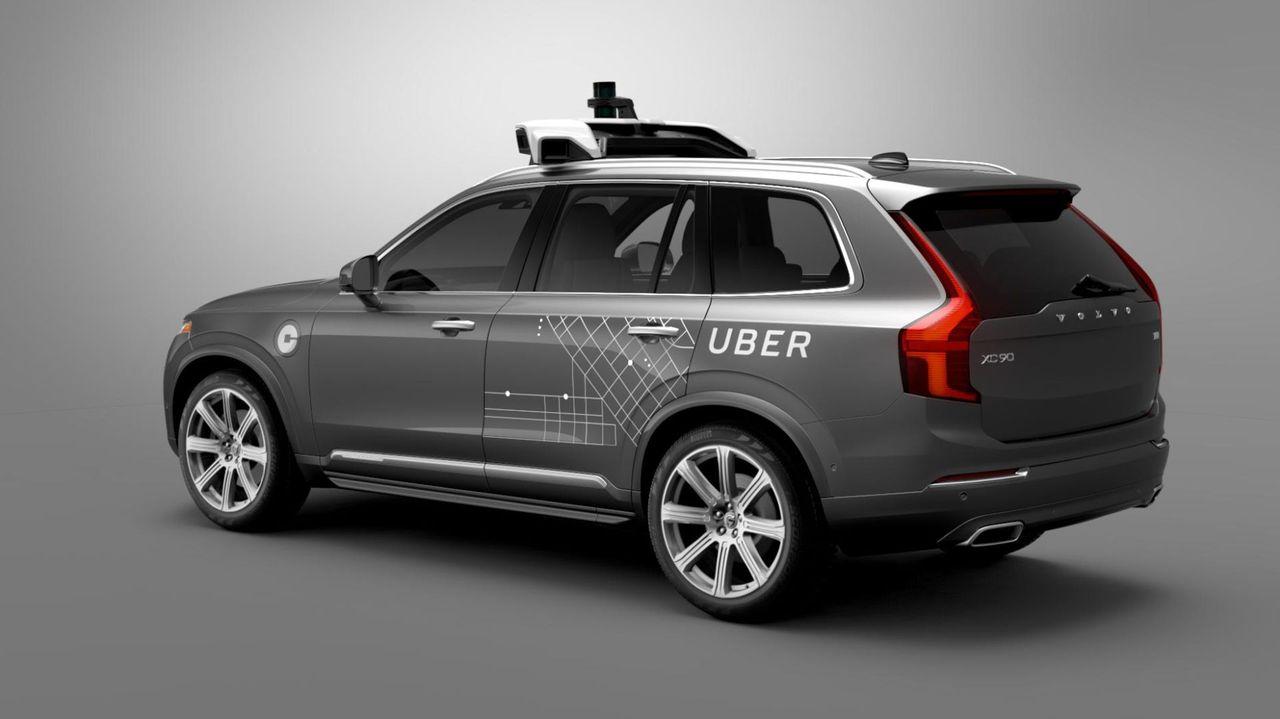 Ubers självkörande bilar får körförbud