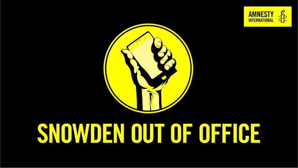Donera ditt out of office-meddelande till förmån för Snowden
