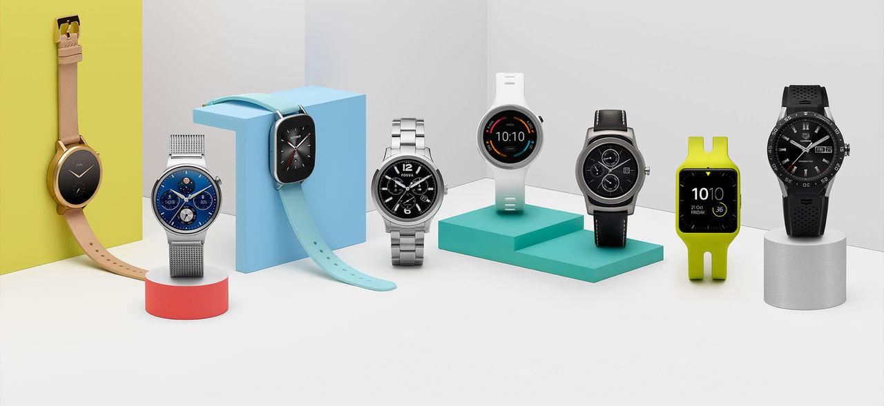Google bekräftar: Två Android Wear 2.0-klockor på ingång