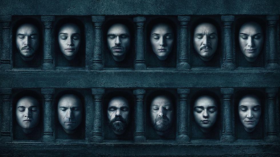 Game of Thrones mest nedladdade TV-serien 2016