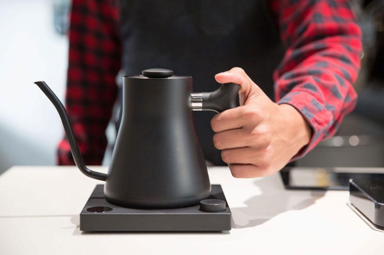 Liten och elegant kaffebryggare