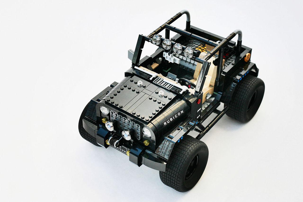 Fin Lego-version av Rubicon-Jeep