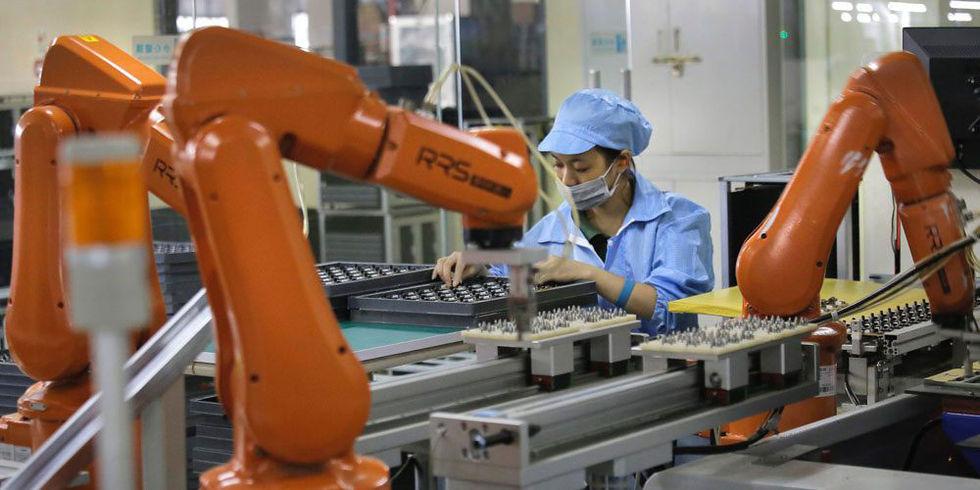 Foxconn jobbar på att få sina fabriker helt automatiserade
