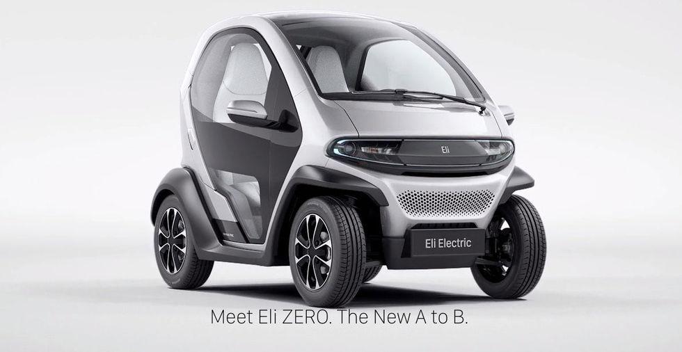 Eli Zero är som en uppväxt Renault Twizy