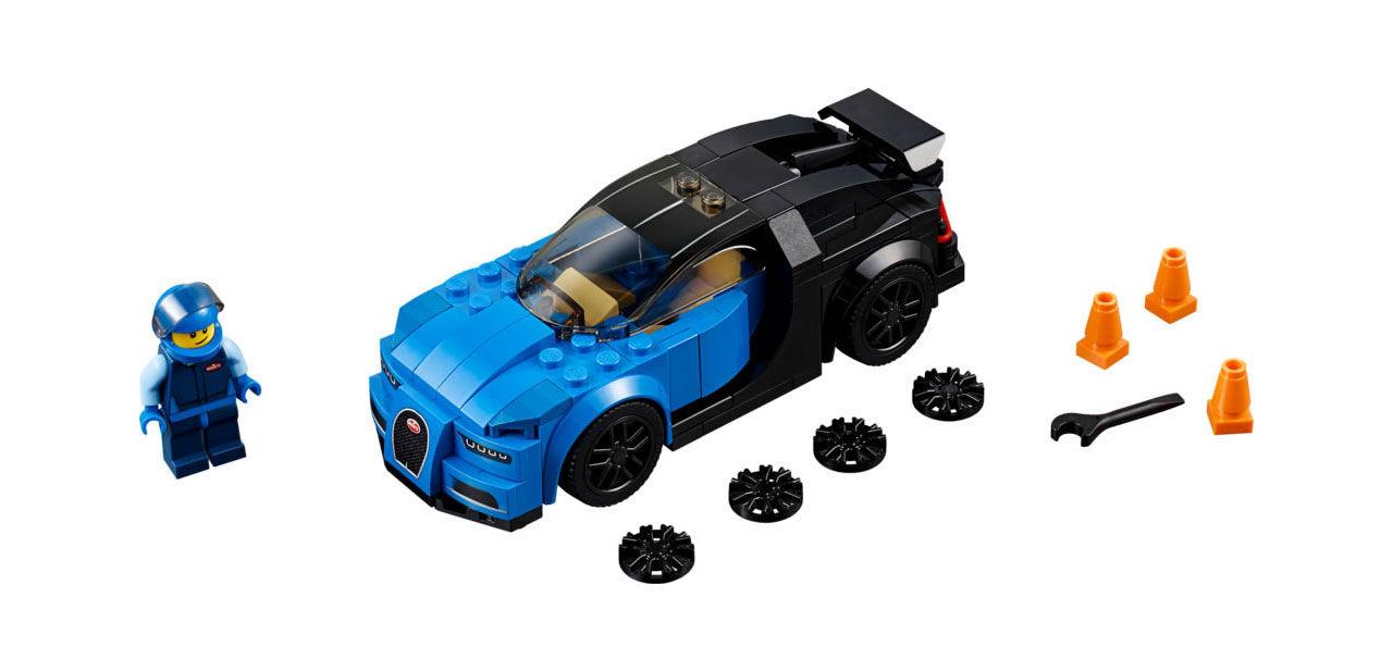 Lego släpper en drös med racingsets