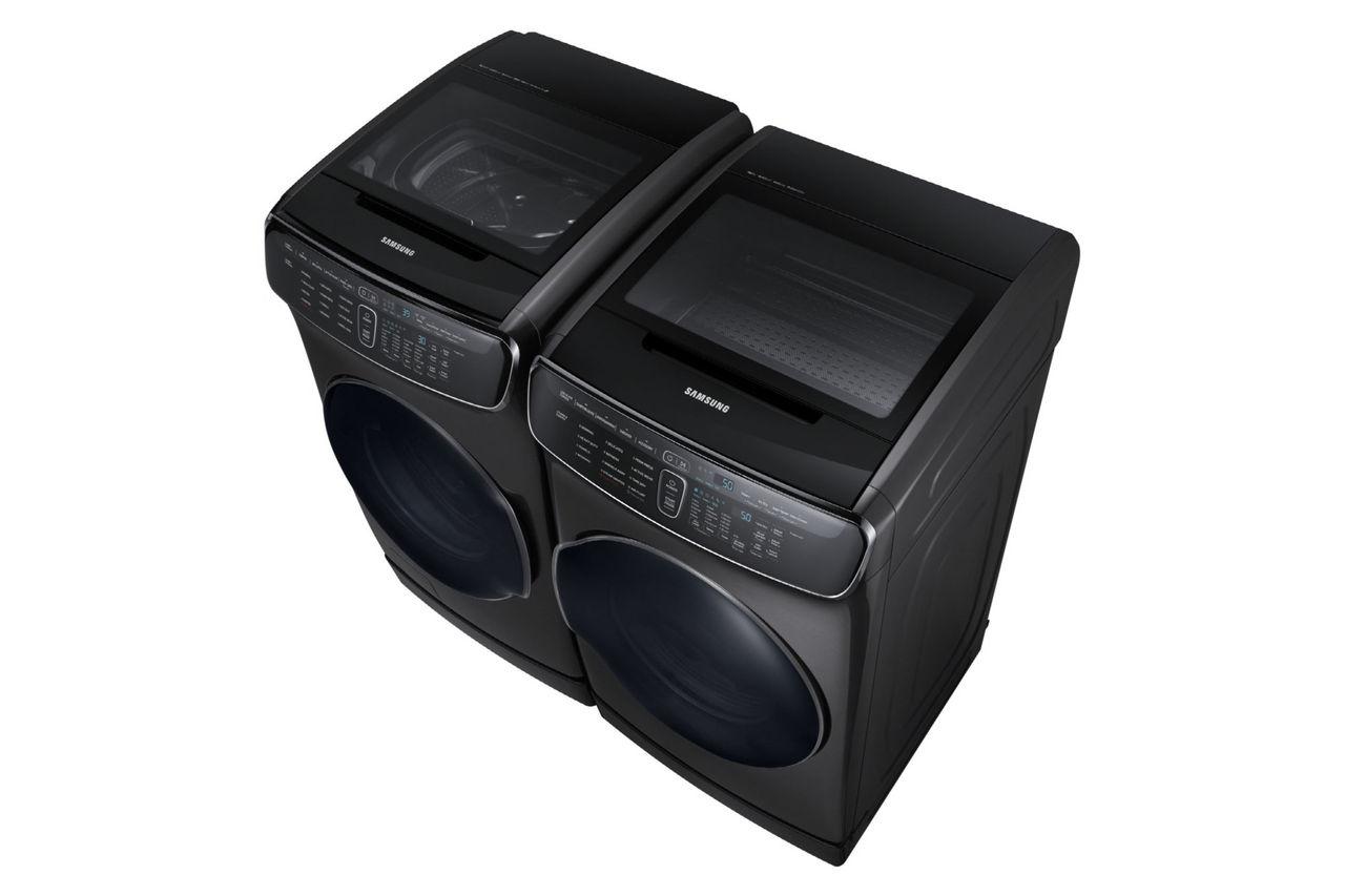 Dubbelt upp på Samsungs nya tvättmaskin och torktumlare