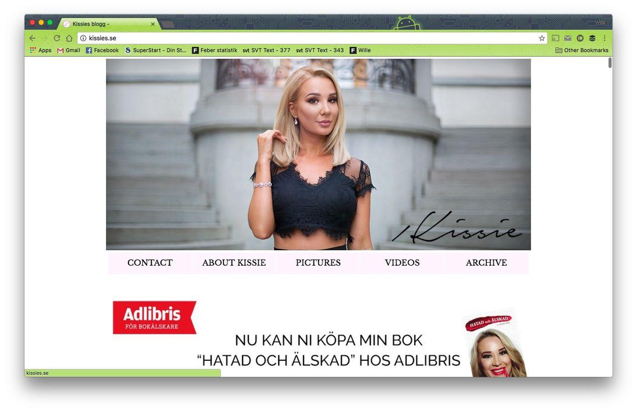 Bloggaren Kissie får böter