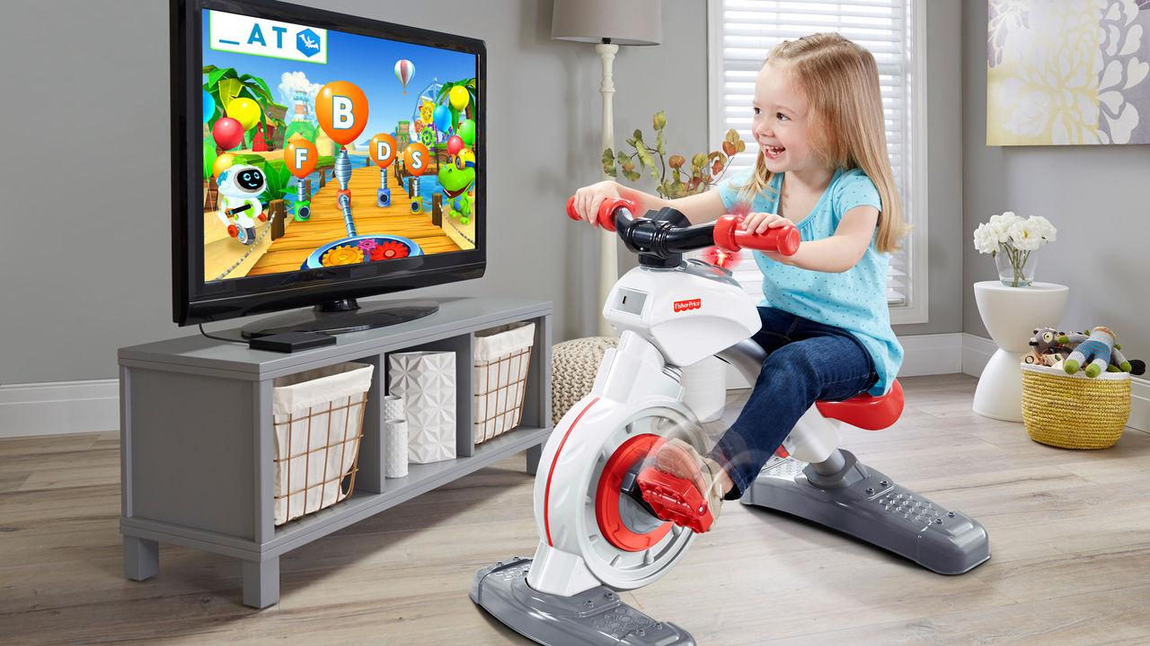 Fisher-Price presenterar smart träningscykel för barn